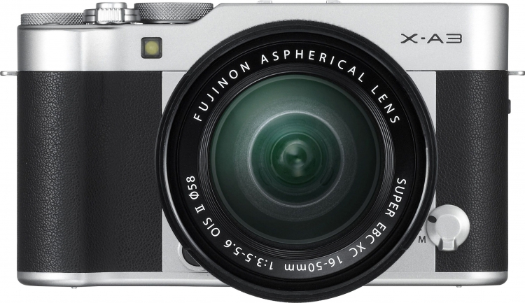 Фото - Fujifilm представила системную камеру X-A3 с новой матрицей и сенсорным дисплеем»