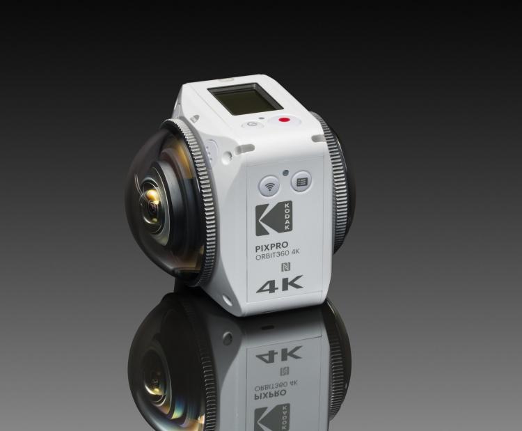 Фото - Kodak PixPro Orbit360: экшен-камера с поддержкой 4K- и VR-контента»