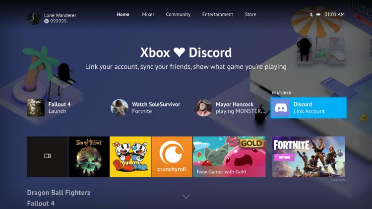 Фото - Скоро Microsoft позволит связать аккаунты Xbox Live и Discord»