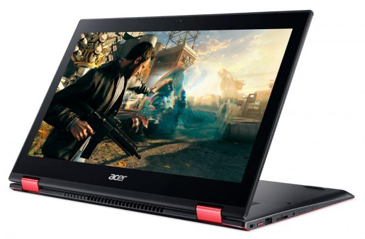 Фото - В России поступил в продажу игровой ультрабук-трансформер Acer Nitro 5 Spin»
