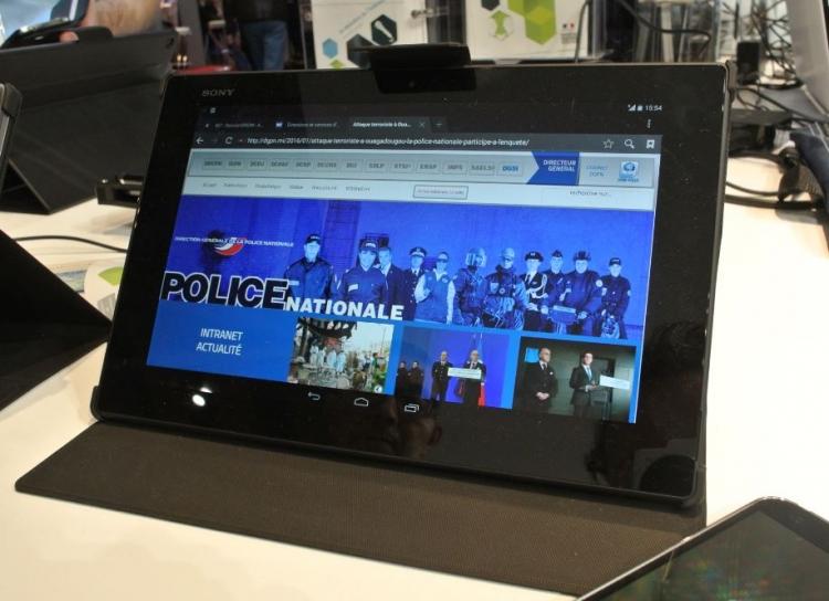Фото - Французская полиция получит для работы планшеты и смартфоны Sony Xperia»