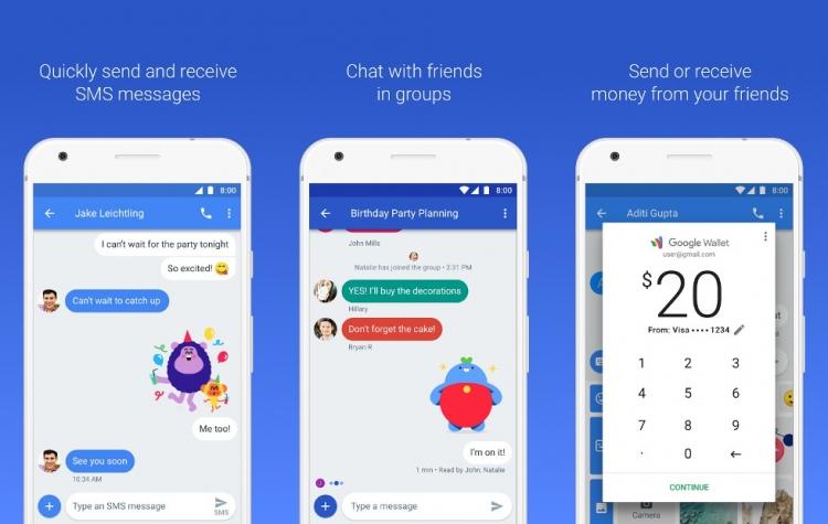 Фото - Устройства с Chrome OS могут получить доступ к мессенджеру Android Messages»