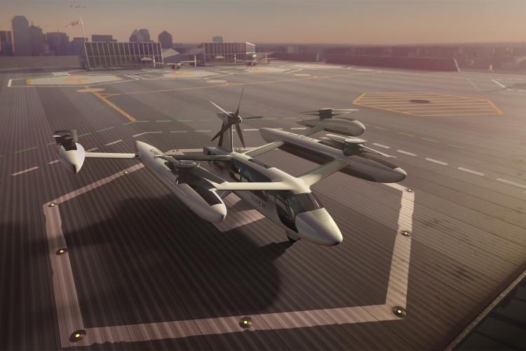 Фото - Uber откроет в Париже Центр перспективных технологий для создания летающих такси»