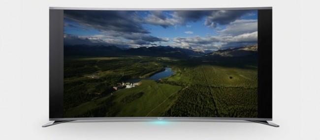 Фото - Sony выпустила первый в мире изогнутый LED-телевизор