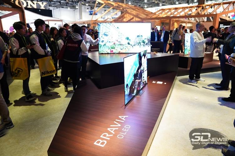 Фото - CES 2018: телевизоры, камеры и смартфоны в экспозиции Sony»
