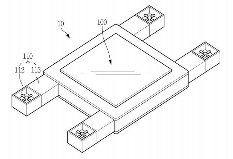Фото - В Samsung изобрели гибрид беспилотника и планшета»