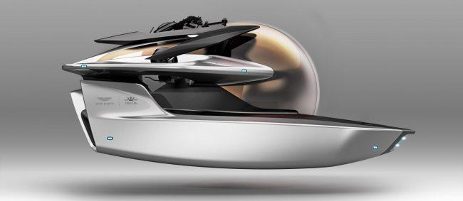 Фото - Aston Martin приступает к созданию электрической подводной лодки