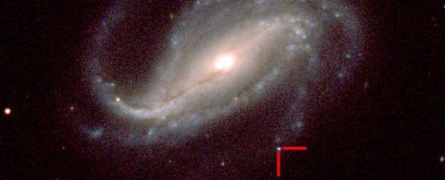 Фото - Астроном-любитель первым в истории получил фотографию появления сверхновой