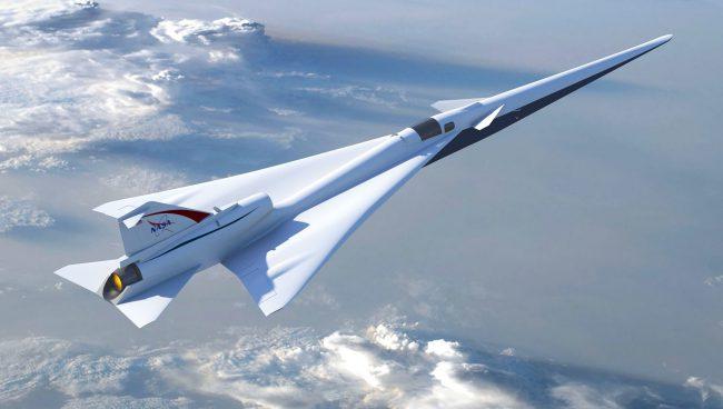 Фото - NASA наняло Lockheed Martin для создания тихого сверхзвукового самолета