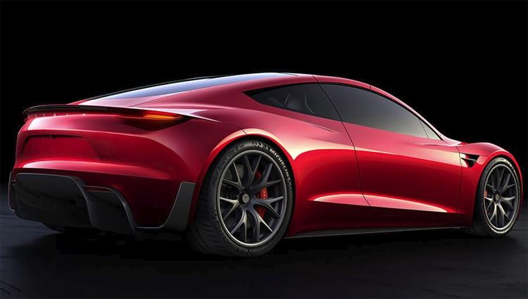 Фото - Пакет опций SpaceX превратит спорткар Tesla Roadster в «ракету»»