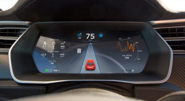 Фото - Получены данные автопилота Tesla Model S, разбившейся о пожарную машину