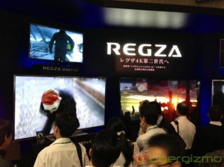Фото - CEATEC 2012: Toshiba показала возможности 4K REGZA HDTV
