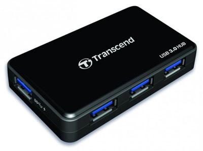 Фото - Transcend HUB3  — 4-портовый хаб с USB 3.0