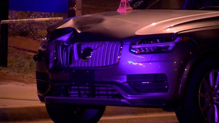 Фото - Обнародовано видео трагического ДТП с участием робомобиля Uber»
