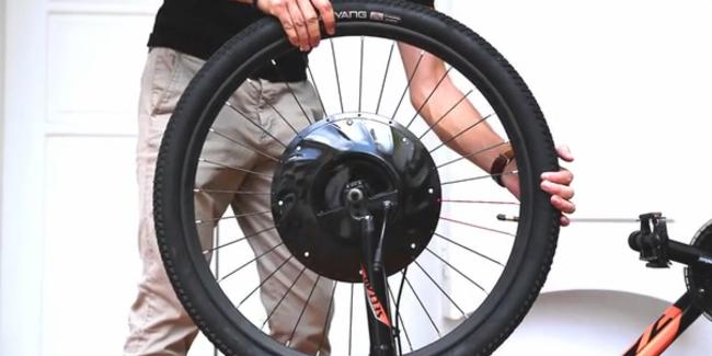 Фото - Колёса UrbanX превращают любой велосипед в электрический