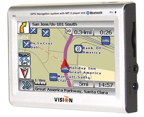 Фото - Vision Tech America представила новое GPS-устройство для Северной Америки