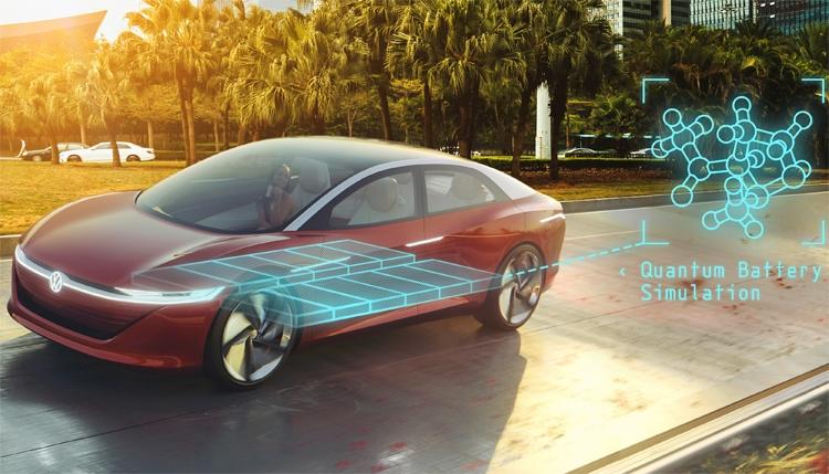 Фото - Квантовые компьютеры помогут Volkswagen в создании передовых аккумуляторов»