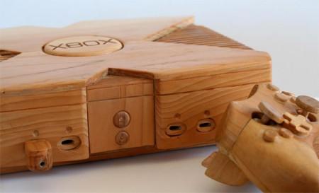 Фото - Деревянная копия оригинальной приставки Xbox