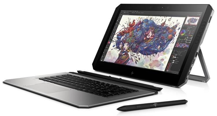 Фото - Гибридный планшет для дизайнеров HP ZBook x2 G4 получил процессор Kaby Lake R»