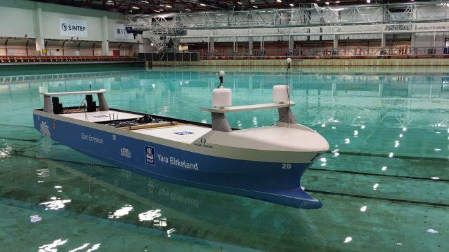 Фото - Норвегия создает первую в мире полностью автономную судоходную компанию
